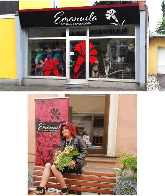 Emanuela, das neue Dessousgeschäft, das Sie verzaubern wird