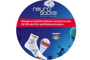 JETZT NEU: NEURO-SOCKS bei uns erhältlich